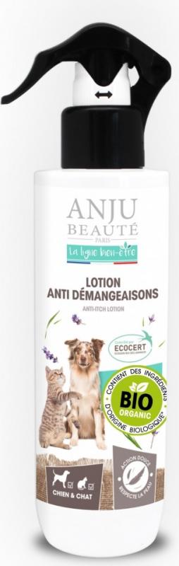 ANJU - Lotion anti-démangeaisons BIO pour Chien & Chat