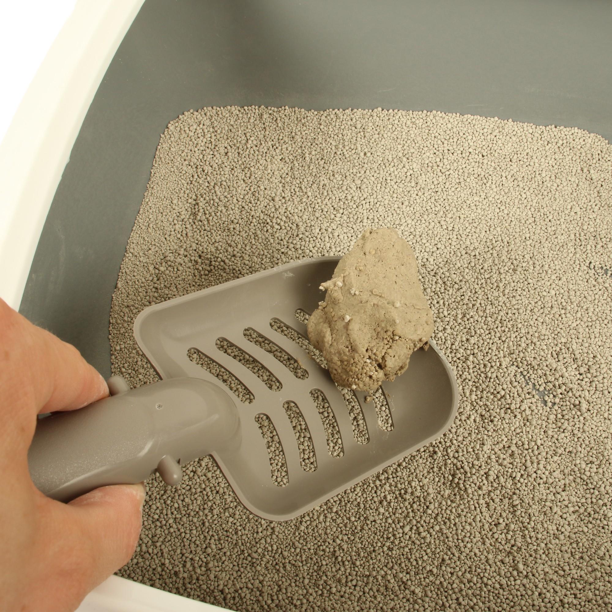 Facile à nettoyer, révolutionnez votre façon de faire la litière de votre chat