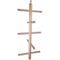Echelle en bois pour oiseau plusieurs échelons au choix, plusieurs tailles disponibles