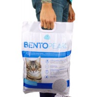 Litière pour chat BentoPearl Odor Control Quality Clean ultra agglomérante 8 kg