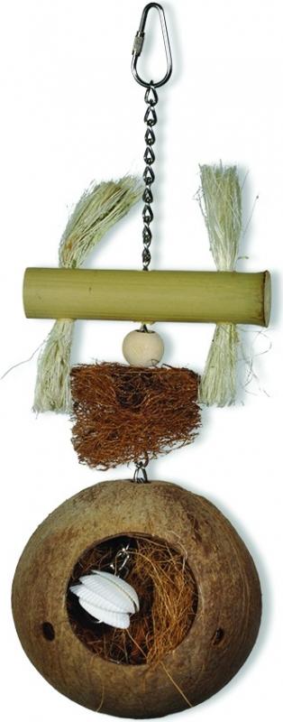 Jouet pour oiseau Vadigran Coconut Nesting 29cm