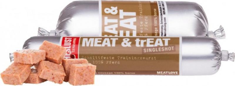 MEATLOVE Friandise Meat & Treat au Cheval pour Chien
