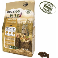 GHEDA Dog&Dog Wild Natural Instinct Sans Céréales pour Chiot