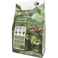 GHEDA Dog&Dog Wild Regional Forest Sans Céréales pour Chien Adulte