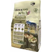 GHEDA Dog&Dog Wild Regional Grassland Sans Céréales pour Chien Adulte