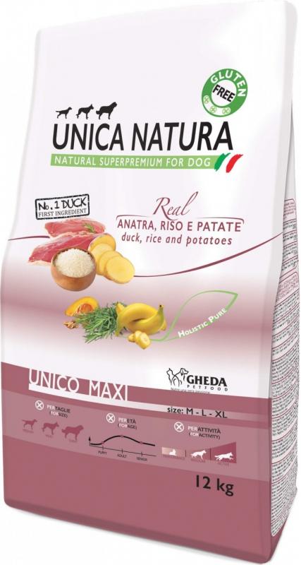 GHEDA Unica Natura Maxi Canard pour Chien de moyenne et grande taille