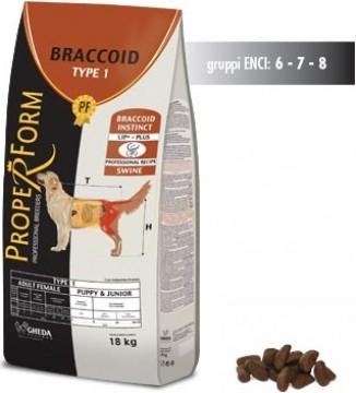 GHEDA Braccoid Type 1 croquettes pour chienne adulte et chiot