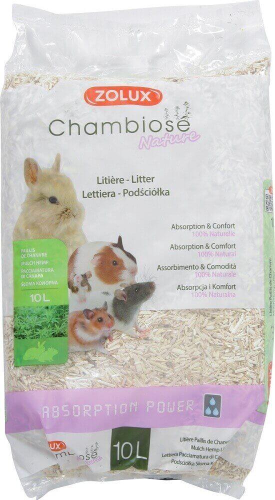 Lecho absorbente Chambiose 10L con alto poder de absorción _0