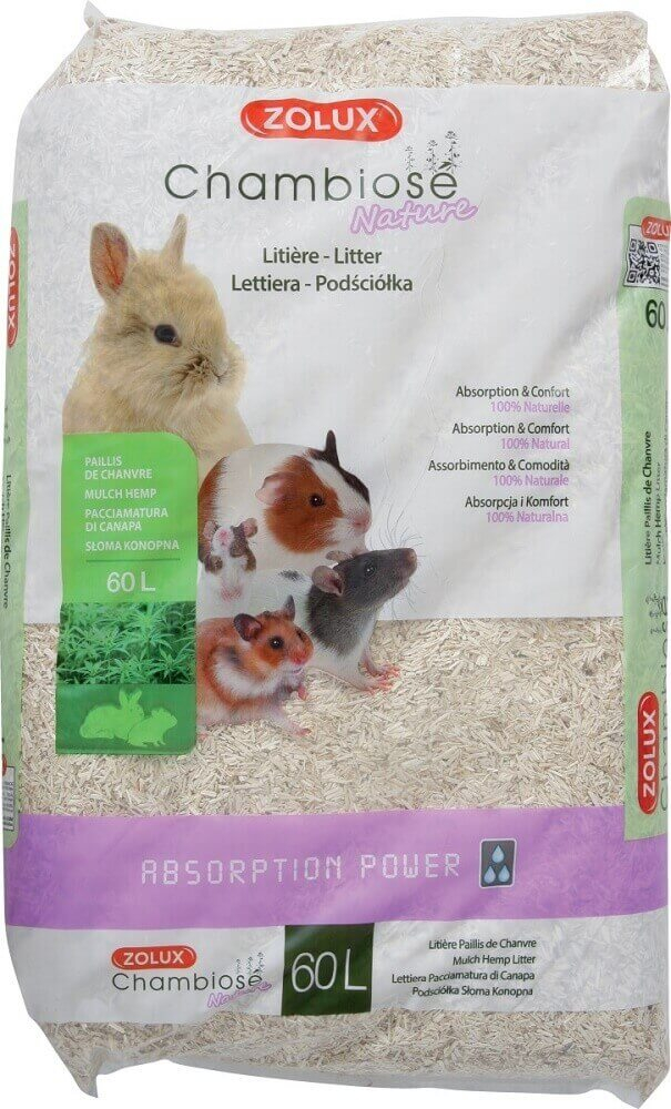 Lecho absorbente Chambiose 10L con alto poder de absorción