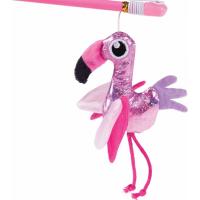 Canne à pêche flamant rose 40cm