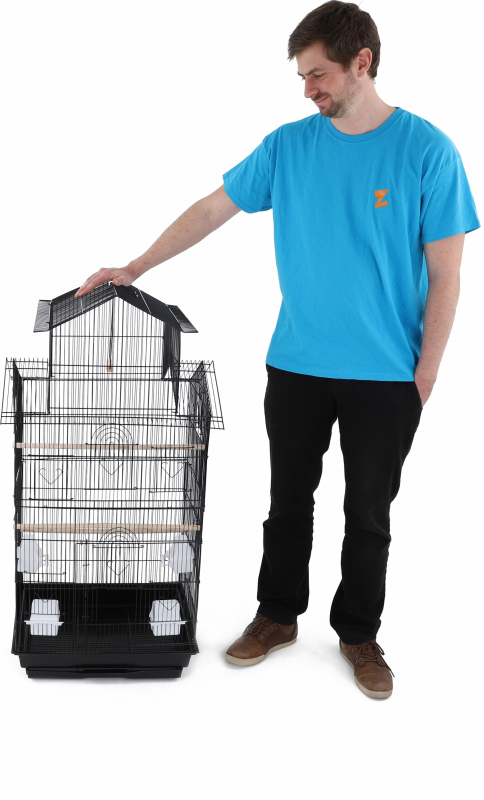 Volière pour petits oiseaux WAKFU ZOLIA
