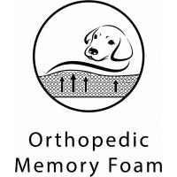 Cesto para cão com memória de forma Fantail Sofa Snooze Silver Spoon - Vários tamanhos disponíveis