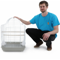 Cage pour oiseaux Zolia Galaxy - H 73 cm