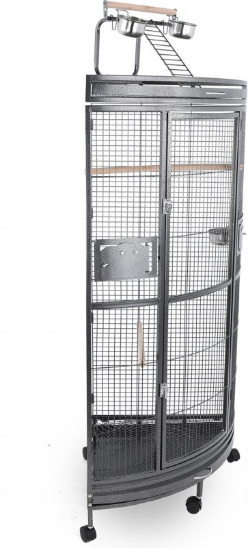 Kooi in hoekvorm Evoli ZOLIA - h 150 cm