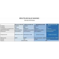 Blue Marine Multi Reactor, 800 et 2000
