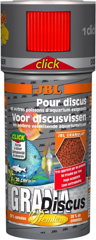 JBL GranaDiscus Click granulés pour Discus