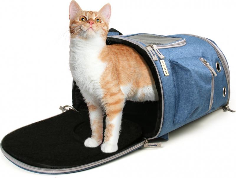 Zolia Lana rugzak voor katten