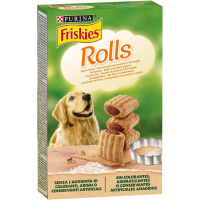 Friskies Rolls Biscuits jambon fromage cuits au four