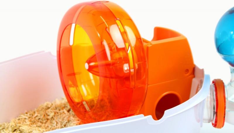 Cage Habitrail Ovo Loft pour hamster