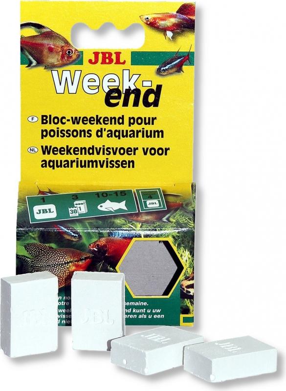 JBL Weekend bloc 3 jours de nourriture