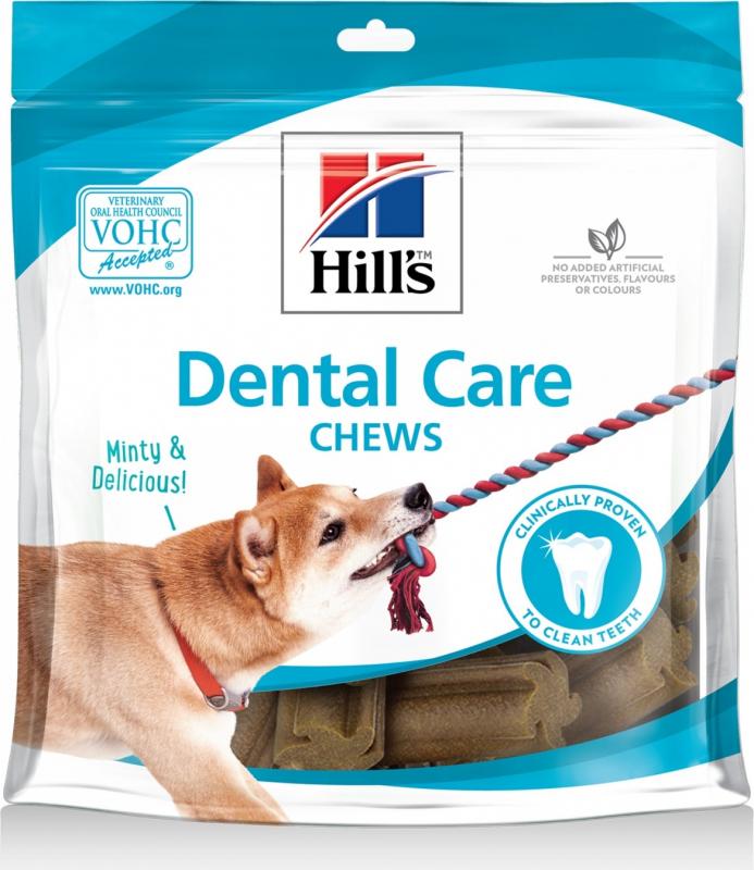 Hill's Dental Care Chews lamelles à mâcher pour chien