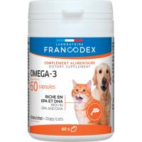 Francodex Omega-3 Tabletten für Katzen und Hunde