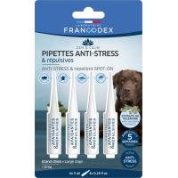 Francodex Pipettes Anti-stress et répulsives pour chiens