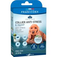 Francodex Collier Anti-stress et répulsif pour chiens