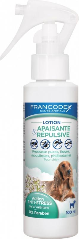 Francodex Lotion Apaisante et répulsive pour chiens - 100ml