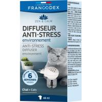 Francodex Diffusore antistress + ricarica gatti - 48ml