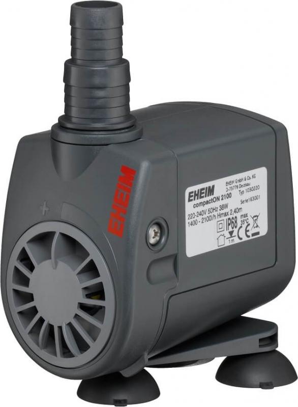 Pompe Eheim CompactOn 2100 Débit de 1400 à 2000l/h