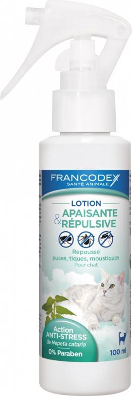 Francodex Lotion Apaisante et répulsive pour chats - 100ml
