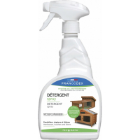 Francodex Spray Détergent poulaillers, clapiers et litières - 750ml