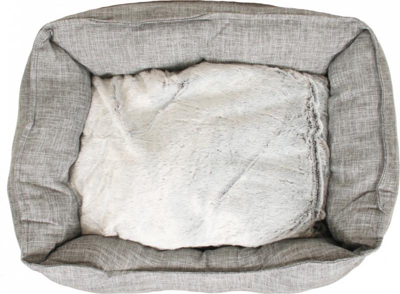 Hundekorb Zolia Azume - hellgrau - 63 cm