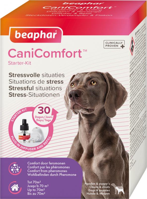 CaniComfort, diffuser met feromonen voor honden en puppy's