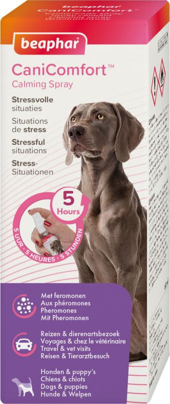 CaniComfort, spray calmant aux phéromones pour chien et chiot