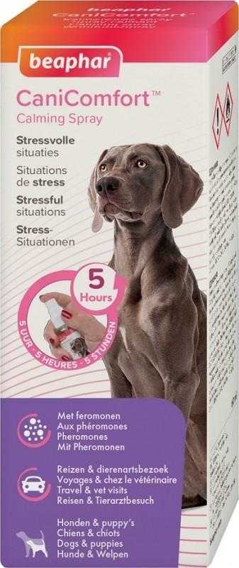 CaniComfort, espray calmante con feromonas para perro y cachorro