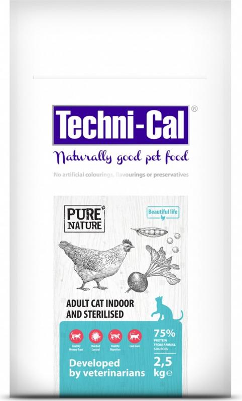 Techni-Cal Adult Cat Indoor crocchette per gatto adulto indoor sterilizzato