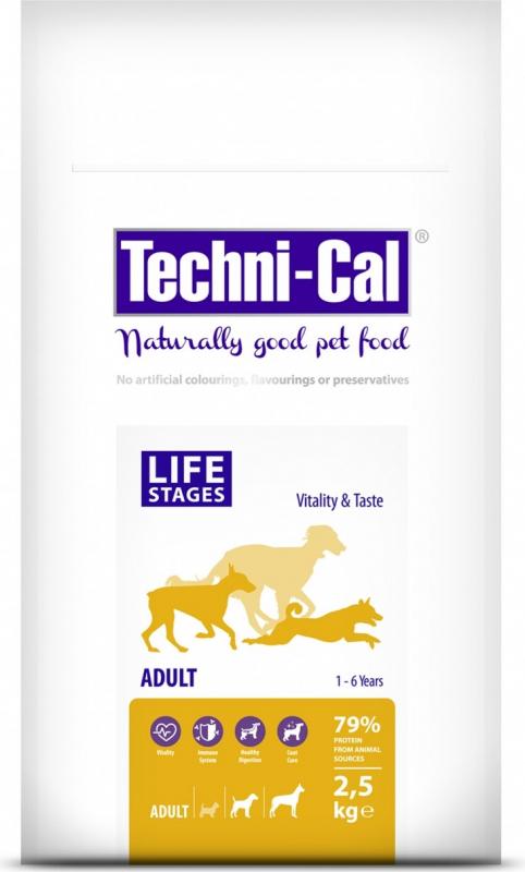 Techni-Cal Adult Trockenfutter für mittelgroße und große Hunde