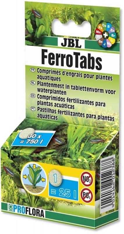 JBL Ferrotabs concentré d'engrais à dissoudre dans l'eau