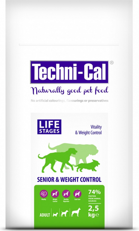Techni-Cal Senior croquettes light pour chien adulte