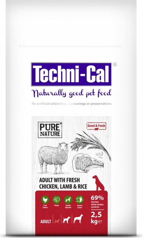 Techni-Cal Mini Adult crocchette per cane adulto di piccola taglia all'agnello