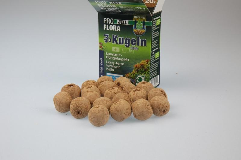 Bolas fertilizantes (7+13) para las raíces de plantas de acuario
