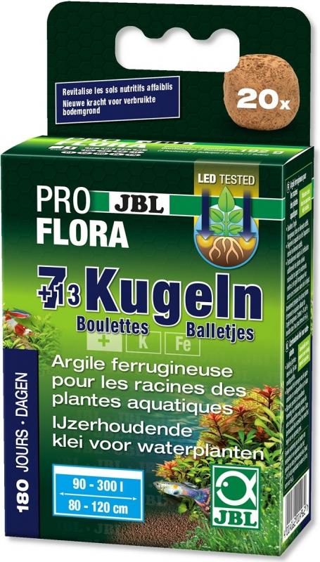JBL Boulettes fertilisantes (7+13) pour les racines des plantes d'aquarium