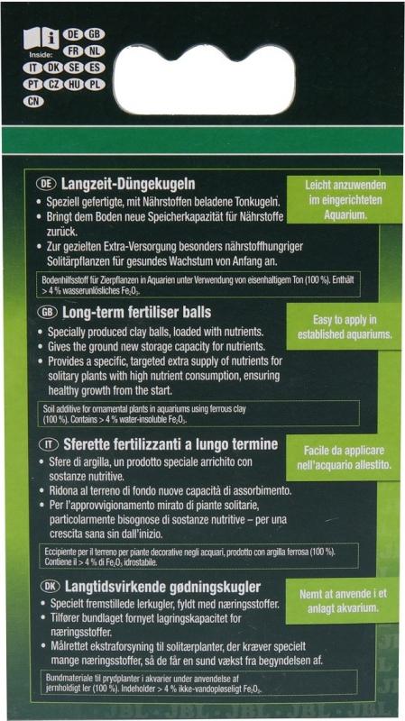 JBL Kugeln 7 boulettes fertilisantes pour plantes aquatiques