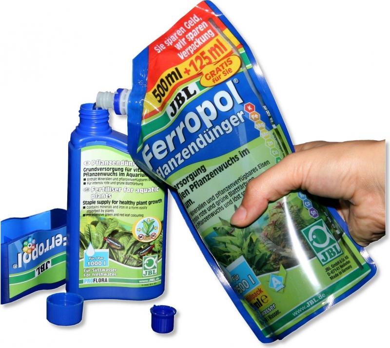 Fertilizante líquido para plantas de acuario Ferropol con oligoelementos