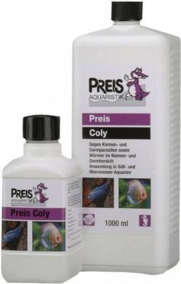 Coly contre les parasites des branchies et intestins