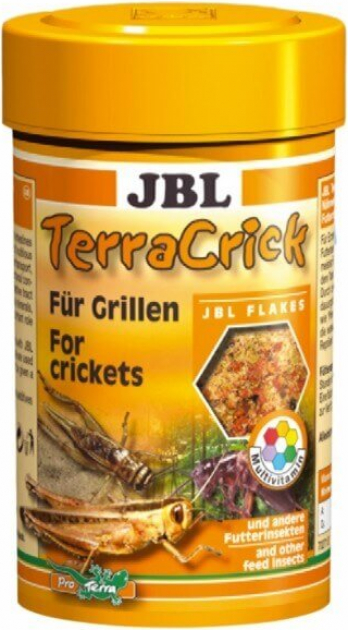 TerraCrick 100ml nourriture pour crickets et autres insectes alimentaires