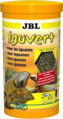 JBL Iguvert Nourriture pour iguane et reptiles végétariens