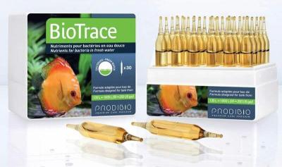 PRODIBIO BioTrace complément bactérien pour eau douce en ampoules